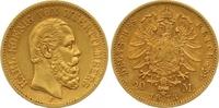 20 Mark Gold 1873  F Württemberg Karl 1864...