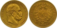 10 Mark Gold 1872  C Preußen Wilhelm I. 18...