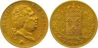40 Francs Gold 1818  W Frankreich Ludwig XVIII. 1814, 1815-1824. Winzig... 495,00 EUR  +  7,00 EUR shipping