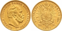 20 Mark Gold 1872  C Preußen Wilhelm I. 18...