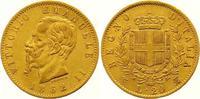 20 Lire Gold 1862 Italien-Königreich Vitto...