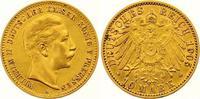 10 Mark Gold 1905  A Preußen Wilhelm II. 1...