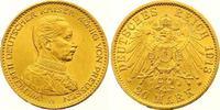 20 Mark Gold 1913  A Preußen Wilhelm II. 1...