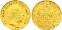 20 Mark Gold 1894  E Sachsen Albert 1873-1...