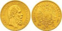20 Mark Gold 1872  F Württemberg Karl 1864...