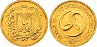 30 Pesos Gold 1974 Dominikanische Republik...