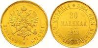 20 Markkaa Gold 1912  S Finnland Nikolaus ...