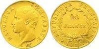 20 Francs Gold 1806  A Frankreich Napoleon I. 1804-1814, 1815. Sehr sch... 295,00 EUR  +  7,00 EUR shipping