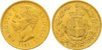 20 Lire Gold 1881  R Italien-Königreich Umberto I. 1878-1900. Fast Stem... 310,00 EUR  +  7,00 EUR shipping