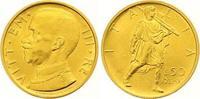 50 Lire Gold 1931 Italien-Königreich Vitto...