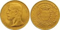 100 Francs Gold 1896 Monaco Albert 1889-19...