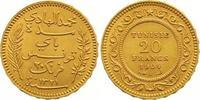 20 Francs Gold 1904 (AH 1321) Tunesien Französisches Protektorat. Vorzü... 285,00 EUR  +  7,00 EUR shipping