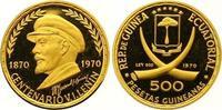 500 Pesetas Gold 1970 Äquatorial Guinea Re...