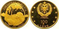 100 Leke Gold 1968 Albanien Sozialistische...