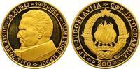 200 Dinars Gold 1968 Jugoslawien Volksrepu...