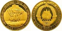 500 Dinars Gold 1968 Jugoslawien Volksrepu...