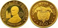 500 Pesos Gold 1968 Kolumbien Republik seit 1886. Polierte Platte  875,00 EUR  +  7,00 EUR shipping