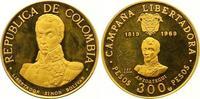 300 Pesos Gold 1969  NI Kolumbien Republik seit 1886. Polierte Platte  525,00 EUR  +  7,00 EUR shipping