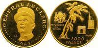 5000 Francs Gold  Tschad Republik seit 1962. Winzige Kratzer, Polierte ... 725,00 EUR  +  7,00 EUR shipping