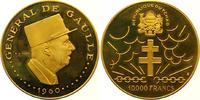 10000 Francs Gold  Tschad Republik seit 1962. Winzige Kratzer, Polierte... 1450,00 EUR free shipping