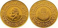 100 Piaster Gold 1972 Türkei Republik. Stempelglanz  290,00 EUR  +  7,00 EUR shipping