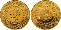 250 Piaster Gold 1972 Türkei Republik. Fast Stempelglanz  /  Polierte P... 725,00 EUR  +  7,00 EUR shipping