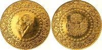 500 Piaster Gold 1972 Türkei Republik. Fas...
