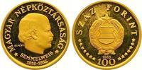 100 Forint Gold 1968 Ungarn Volksrepublik ...