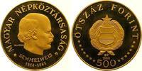 500 Forint Gold 1968 Ungarn Volksrepublik 1949-1989. Polierte Platte  1750,00 EUR free shipping