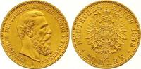 20 Mark Gold 1888  A Preußen Friedrich III...