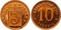 Kupferabschlag von den Stempeln des 10 P 1...