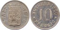Silberabschlag von den Stempeln des 10 P 1...