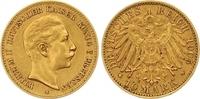 10 Mark Gold 1907  A Preußen Wilhelm II. 1888-1918. Winziger Randfehler... 185,00 EUR  +  7,00 EUR shipping