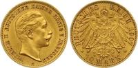 10 Mark Gold 1905  A Preußen Wilhelm II. 1888-1918. Sehr schön +  165,00 EUR  +  7,00 EUR shipping