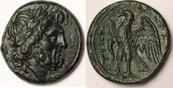 AE Unit / Drachm 216-214 BC Bruttium The Brettii fast vzgl