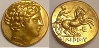 Stater ca 359-336 BC Macedon / Makedonien Philip II. 359-336 BC - Alexander III fast vzgl