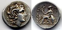 Drachm 294-287 BC Thrace / Thrakien Lysima...
