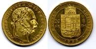 8 Forint / Gulden 1883 KB Österreich-Ungar...