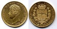 20 Lire 1834 Torino Italy / Italien Sardin...