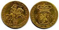 7 Gulden / 1/2 Gouden Rijder 1760 Netherla...