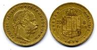 8 Forint / Gulden 1870 GYF Österreich-Unga...