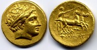 Stater  Macedon / Makedonien Philip II. 35...