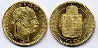 8 Forint / Gulden 1892 KB Österreich-Ungar...