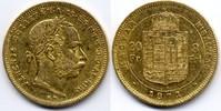 8 Forint / Gulden 1871 KB Österreich-Ungar...