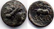 AE 16 mm / Bronze ca 350 BC Euboia / Euboi...