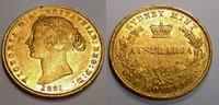 Sovereign 1861 Australia / Australien Vict...