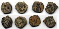 AE  Nabatean Kingdom / Nabatea Lot von 4 S...