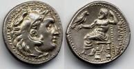 AR Drachm / Drachme 323-280 BC Macedon / M...