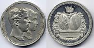 Zn-Medaille / Zn Medal 1881 Baden-Durlach ...