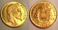 20 Francs 1870 A France / Frankreich Napol...